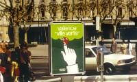 Affiche Valence Ville Verte - Roland Salti